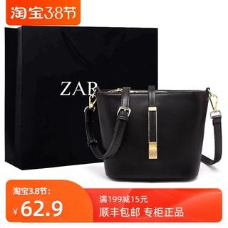 香港正品包包女包新款2020时尚高级质感洋气水桶包女斜挎百搭ins