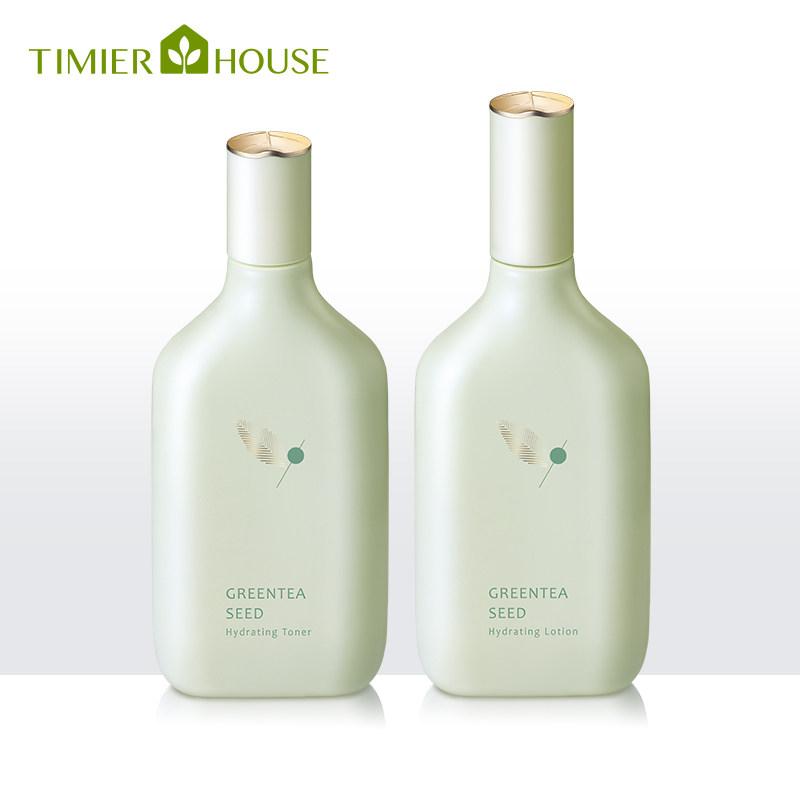 婷美小屋绿茶籽水乳套装女保湿调节质量可靠吗