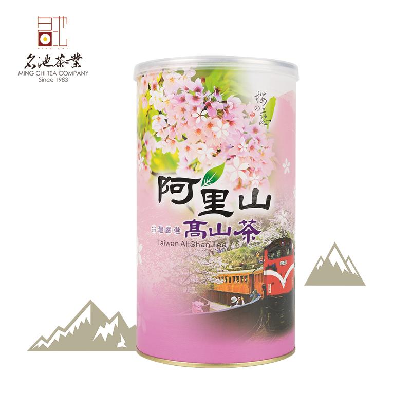 300g名池台湾进口油切黑乌龙炭焙老乌龙熟茶高山乌龙茶阿里山熟香