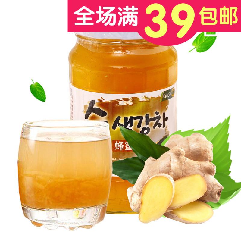 【 кудахтанье болтовня чистый 】 корея международный имбирь чай импорт еда имбирь напиток статья корея порыв напиток 560 грамм