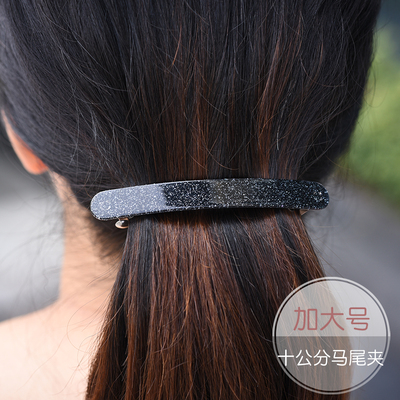 发夹女成人发卡韩国头饰品夹子优雅发饰头花顶夹一字夹马尾夹横夹