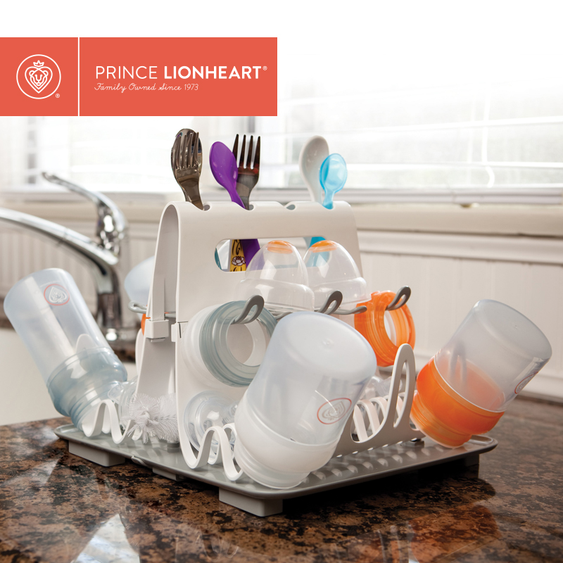 Prince Lionheart美狮宝奶瓶架干燥架餐具收纳整理沥水置物晾干架