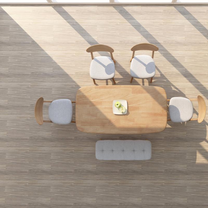 实木餐桌椅组合小户型日式现代简约长方形家用长凳全实木北欧饭桌
