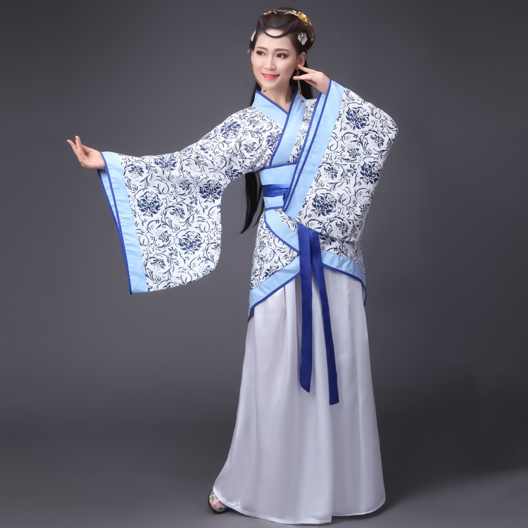Hanfu female costume, Tang suit, maid, palace girl, fairy, princess, cheap stage student costume