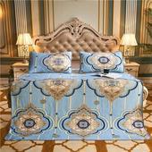 泰国乳胶凉席三件套冰丝席子夏季可水洗折叠1.5m1.8米床垫凉席