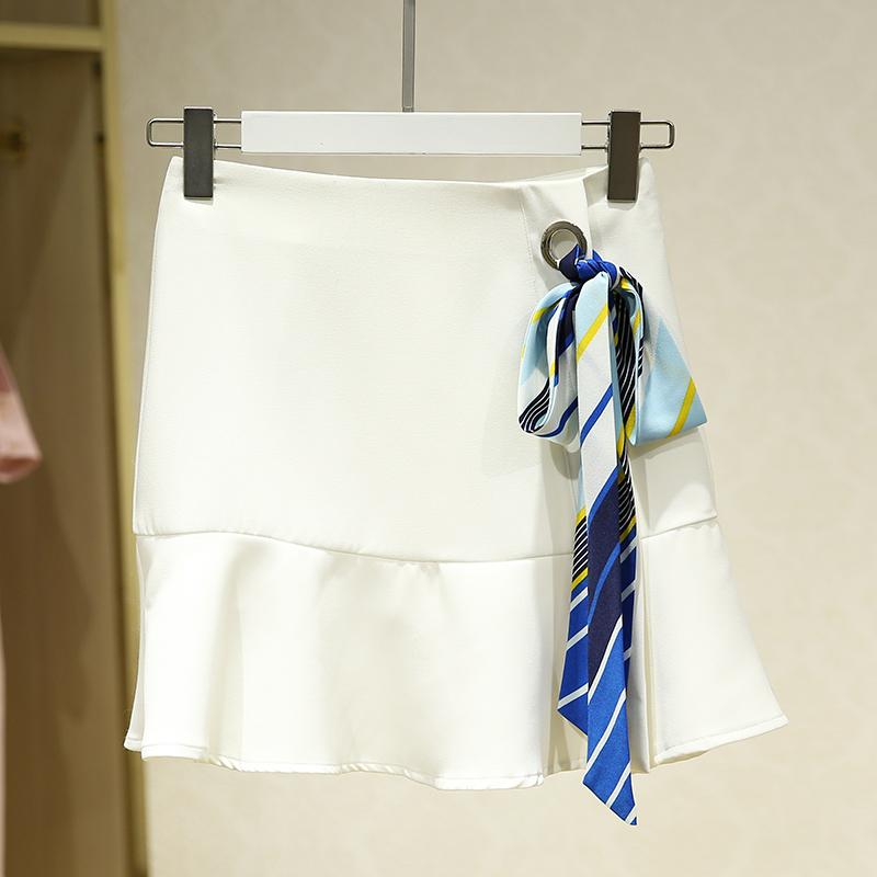 包邮~【百】挂脖上衣纯色半身裙两件套装 专柜品牌商场撤柜女装