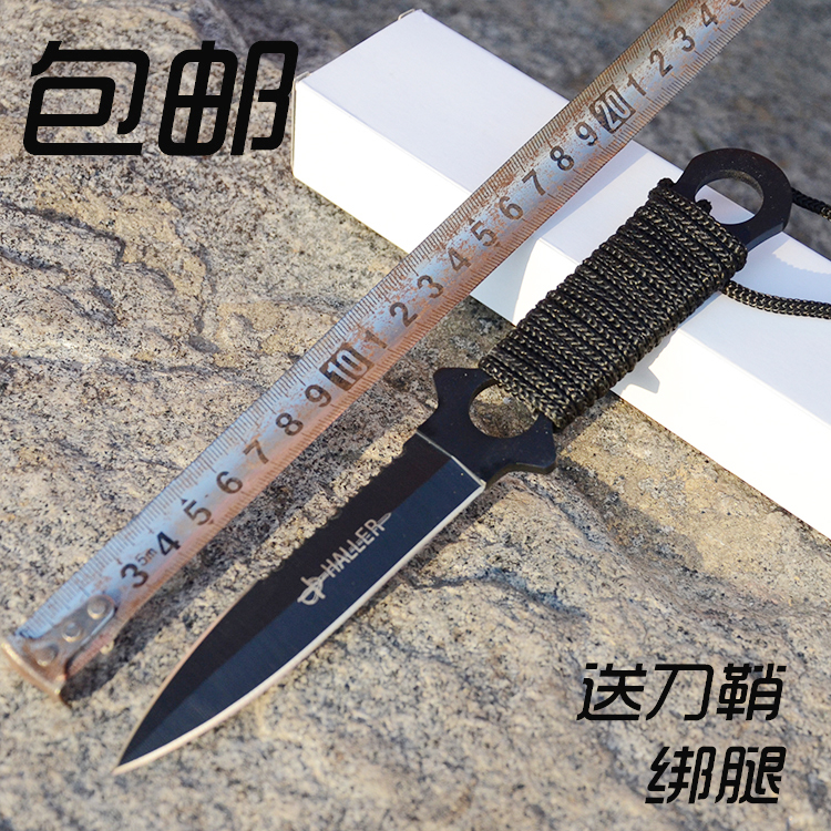 Прямой нож леггинсы дайвинг нож сабля короткий нож меч лезвие на открытом воздухе противо тело кемпинг не- бабочка весна сложить инструмент