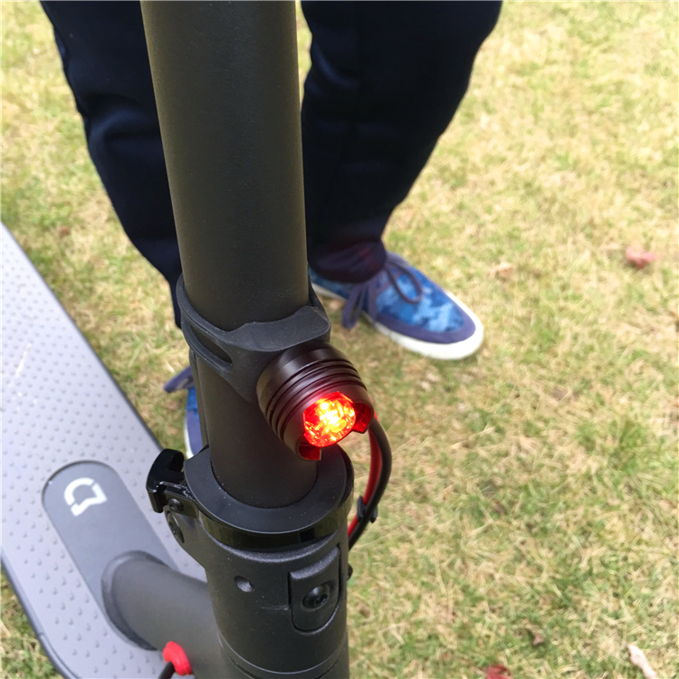 Сяоми метр домой электрический скутер монтаж свет автомобиль свет дьявол свет верховая езда велосипед декоративный глава задний фонарь бесплатная доставка