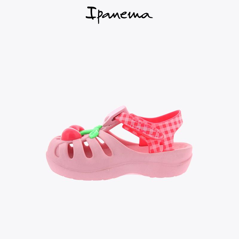 【直营】ipanema 夏季儿童凉鞋男女宝宝软底学步包头沙滩洞洞鞋