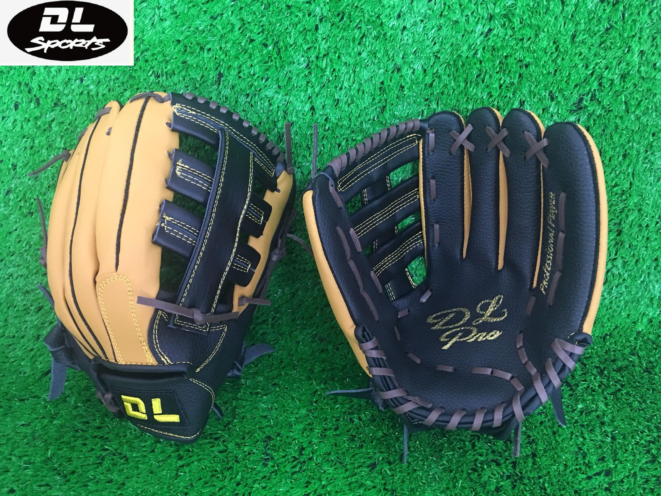 Бейсбол душа DL новый император дракон половина воловья кожа бейсбол перчатки фиксированный Цена 150 для взрослых молодежь обучение использование новые товары