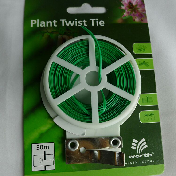 Horticultural products 30 meters wrapped plastic cable tie belt vine climbing fixed climbing plant traction rope