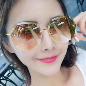 正品牌祺祥暴龙2020女士偏光太阳镜新款防紫外线眼镜长脸圆脸墨镜