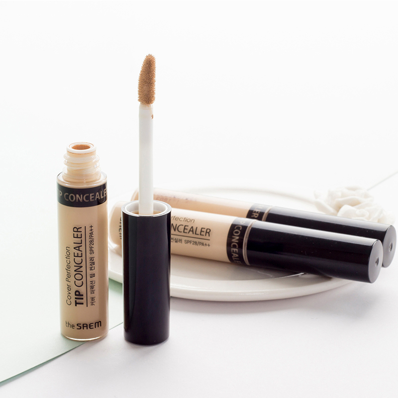South Koreas the SAEM has a perfect Concealer cream, lips, eyes, eyes, black eyes and bags.