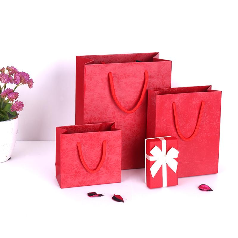 (用1元券)礼品袋手提袋小纸袋高档订制内衣祙子首饰珠宝口红香水礼物盒袋子