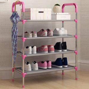 多层简易鞋架家用鞋柜组装布艺经济型寝室宿舍小鞋架子居家收纳柜