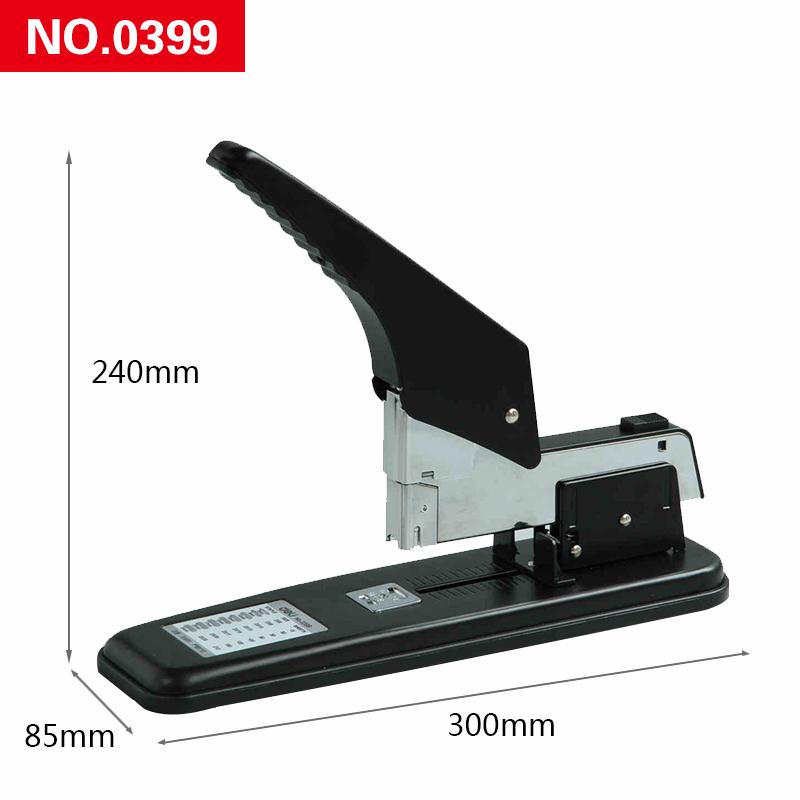 得力省力重型加厚型訂書機大號厚層訂書器裝訂機50 80 210頁包郵