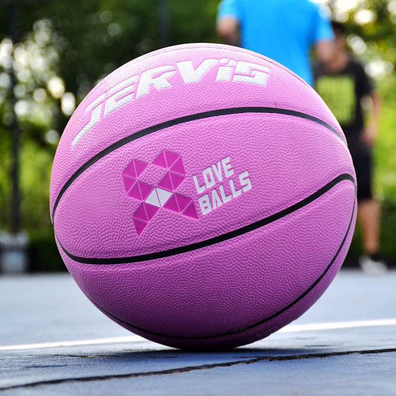 Jarvis childrens middle school test soft leather indoor and outdoor wear-resistant 765 mens and womens Pink Basketball Girl heart