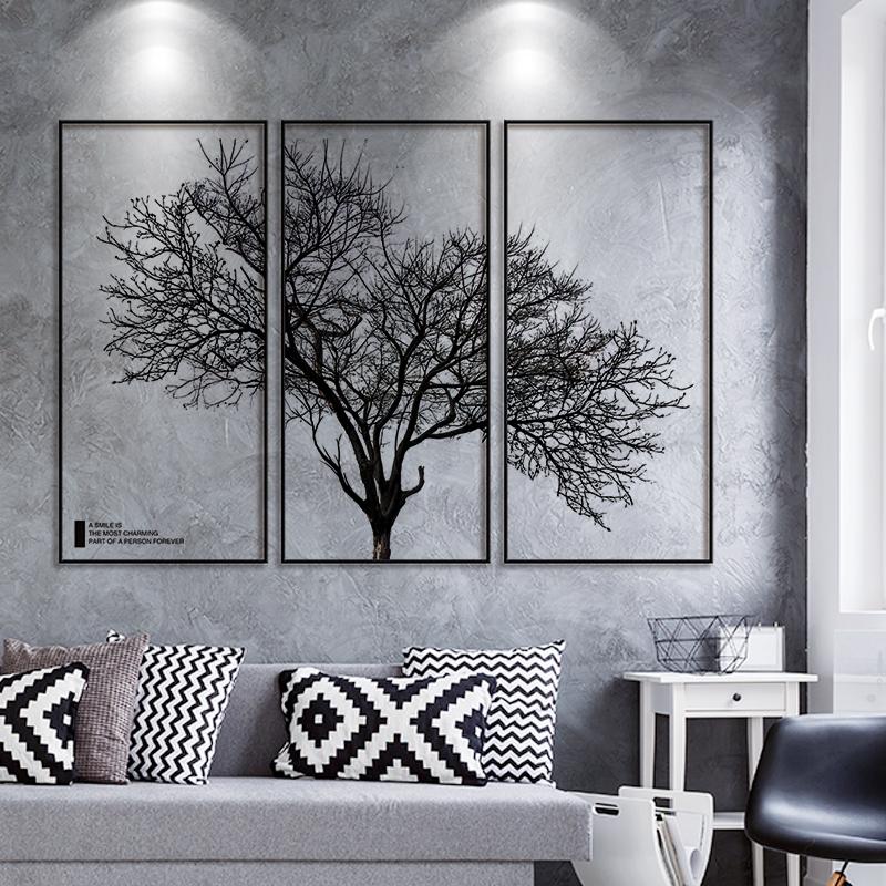 创意墙面背景装饰品布置卧室壁纸