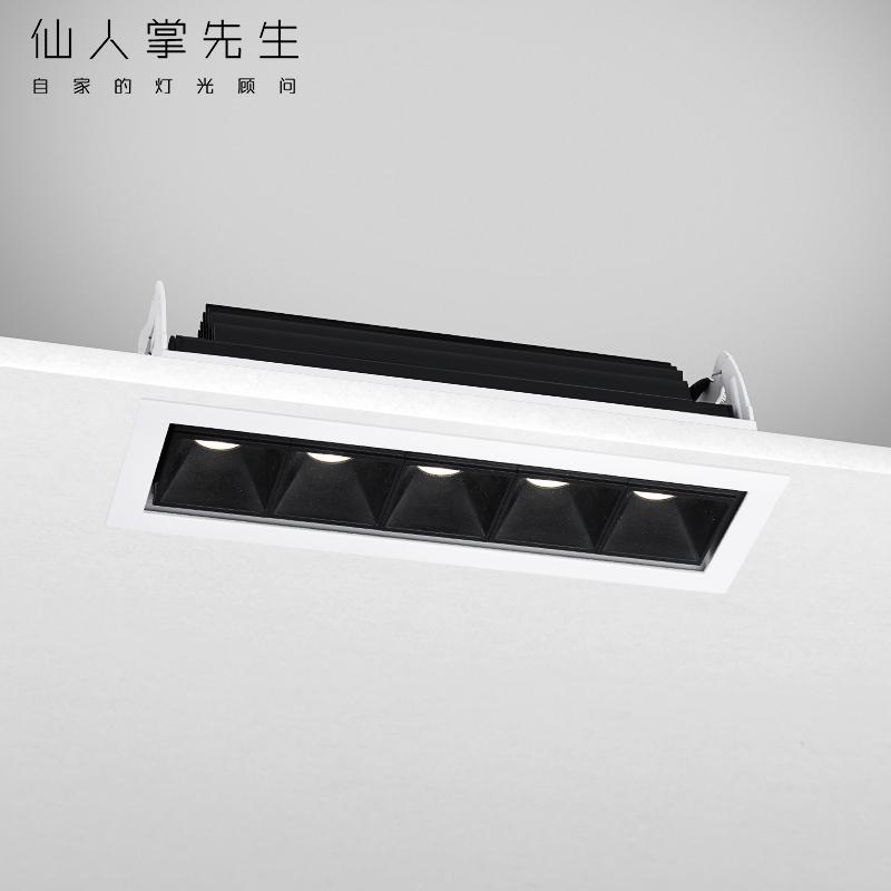 仙人掌先生LED射灯条形灯衣柜餐厅长条灯客厅线条灯专业橱柜射灯