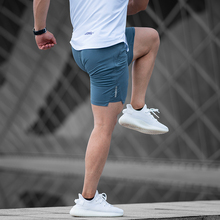 ONGOING运动短裤弹力透气健身三分裤夏季速干跑步四分裤男蹲腿裤