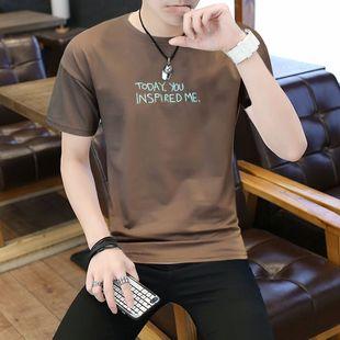便宜9.9男士短袖男款圆领夏季t恤