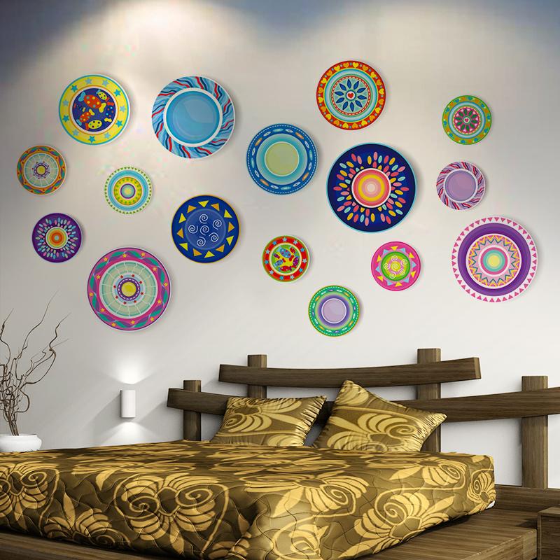 卧室照片墙网红客厅墙贴画墙纸贴纸