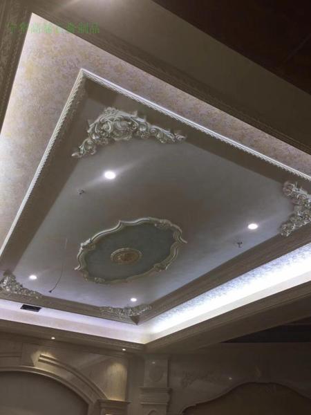 宁华石膏线条欧式新款天花角花天然环保花角造型客厅顶面非PU包邮