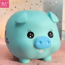 猪猪存钱罐防摔儿童大容量储蓄罐创意可爱男女生日礼物储钱罐摆件