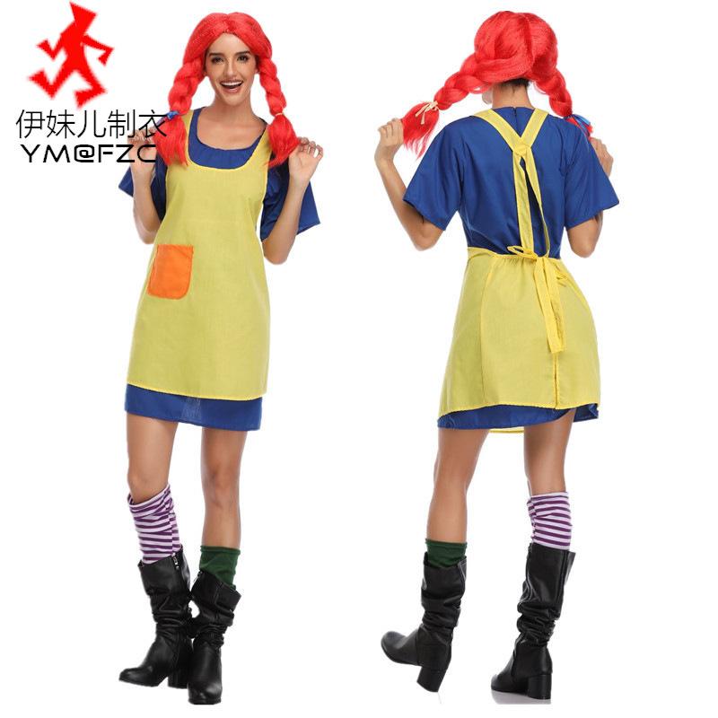 万圣节服装 成人女调皮女孩cosplay 可爱演出服游戏动漫角色扮演