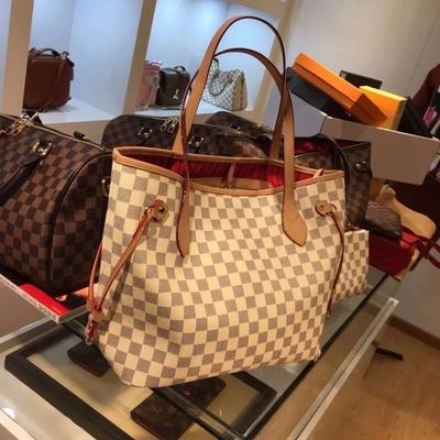 2020夏季新款高级感女包lv06大容量购物袋子母包单肩手提托特大包