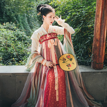 Go back to the original authentic Tang style Hanfu made by the Han Dynasty and Tang Dynasty