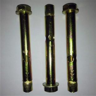 六角内套管m6m8m10 螺丝配平垫膨胀锥母 黄锌加长套管10个价格。