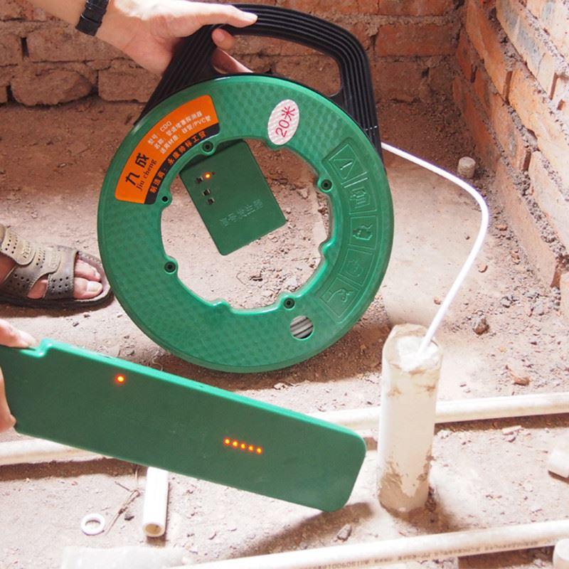 管道测堵器电工测塑管PVC管铁管穿线管堵塞探测器探堵器排堵仪器