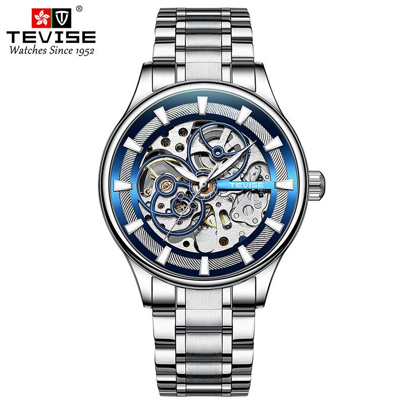 瑞士依机械波手表商务时尚防水理查德双面镂空全自动十大米勒男表