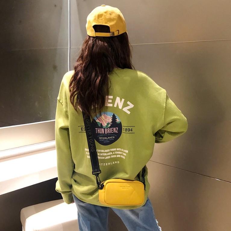 韩国代购官网正品女装2019秋装卫衣11-20新券