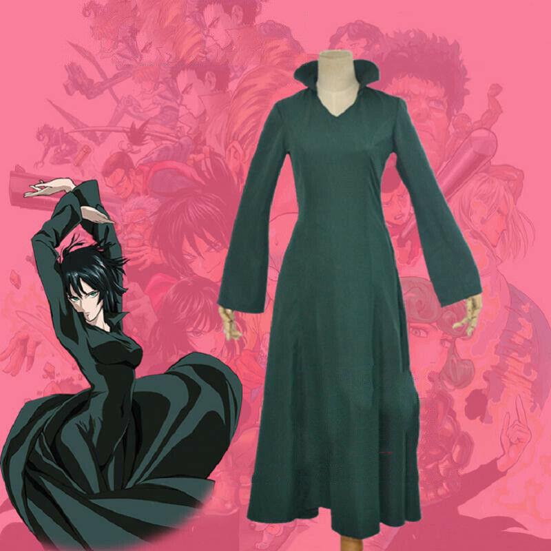 Cosplay girls green dress