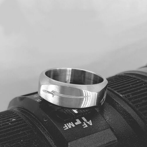 Buy cos Alita battle Angel ring, titanium steel punk ring accessories Cosplay gift quality