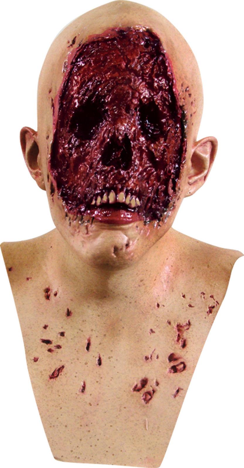 コスプレハロウィンの怖いマスクを買ってきました。顔がありません。