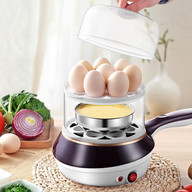 煮蛋器蒸蛋器家用煎蛋神器迷你煎鸡蛋锅早餐机自动断电小型多功能