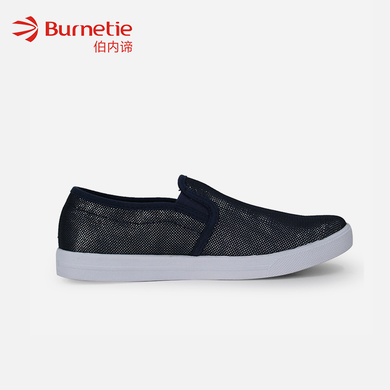 Benedicts new spring and summer breathable one foot lazy shoes casual canvas shoes womens shoes Korean versatile low top shoes