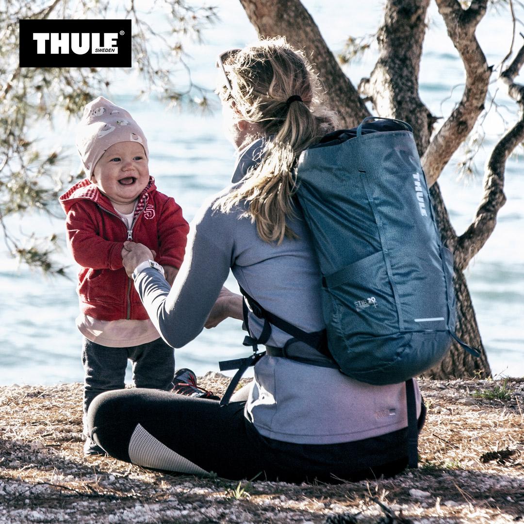 瑞典拓乐Thule 20L Stir 专业轻便户外徒步旅行运动防水双肩背包