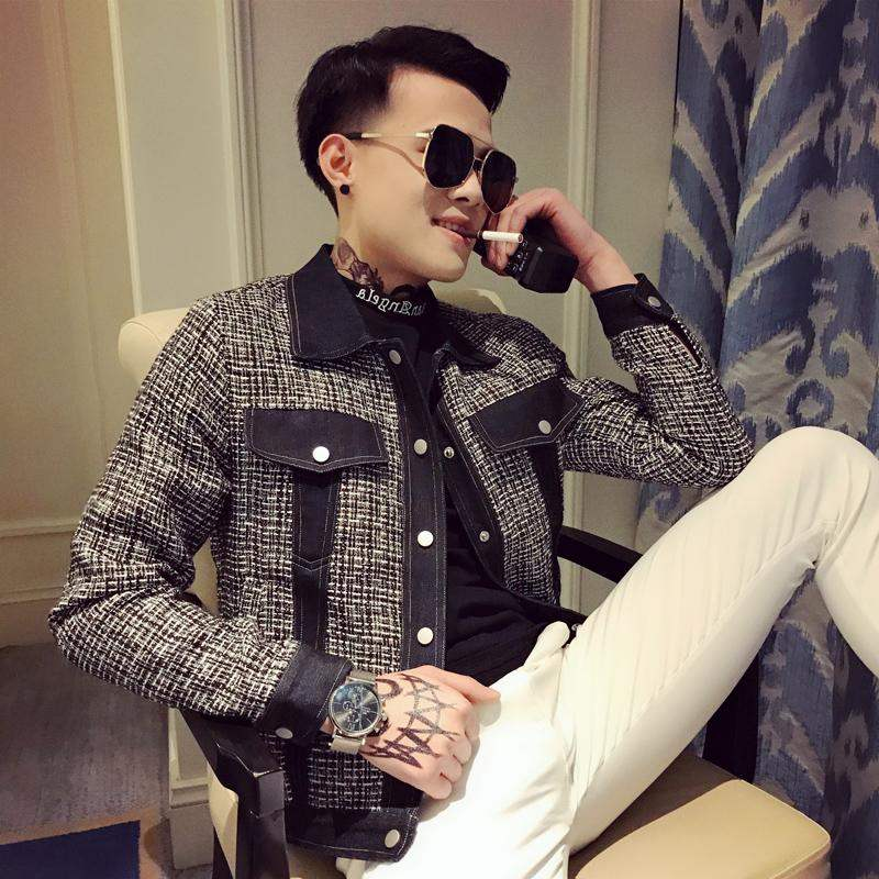 唐狮官方正品韩版修身小码S号XS码青年夹克上衣小外套矮小个子秋