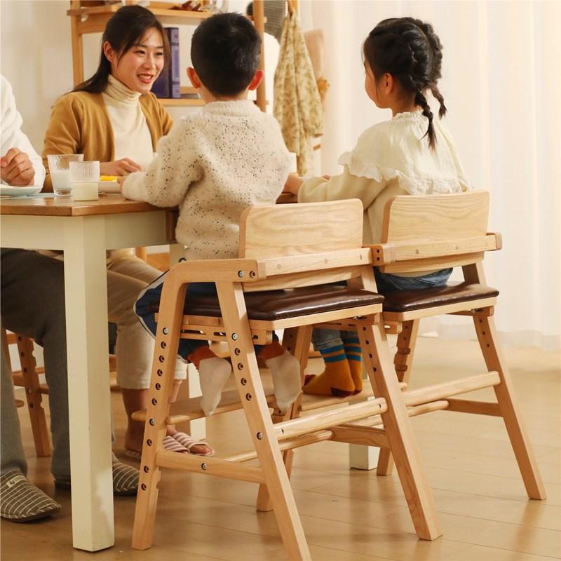 实木坐椅宝宝成长座椅吃饭儿童