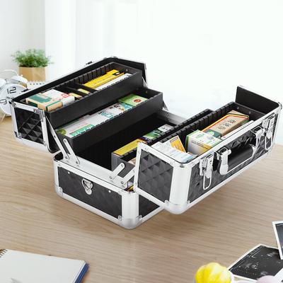 便携出诊微整便民服务用品工具箱家用包收纳多层手提医疗家庭药盒