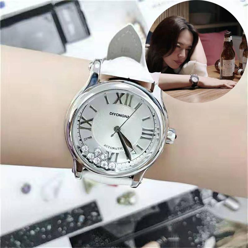 2020新品都挺好姚晨同款时装抖音白领女士皮带气质石英国产手腕表