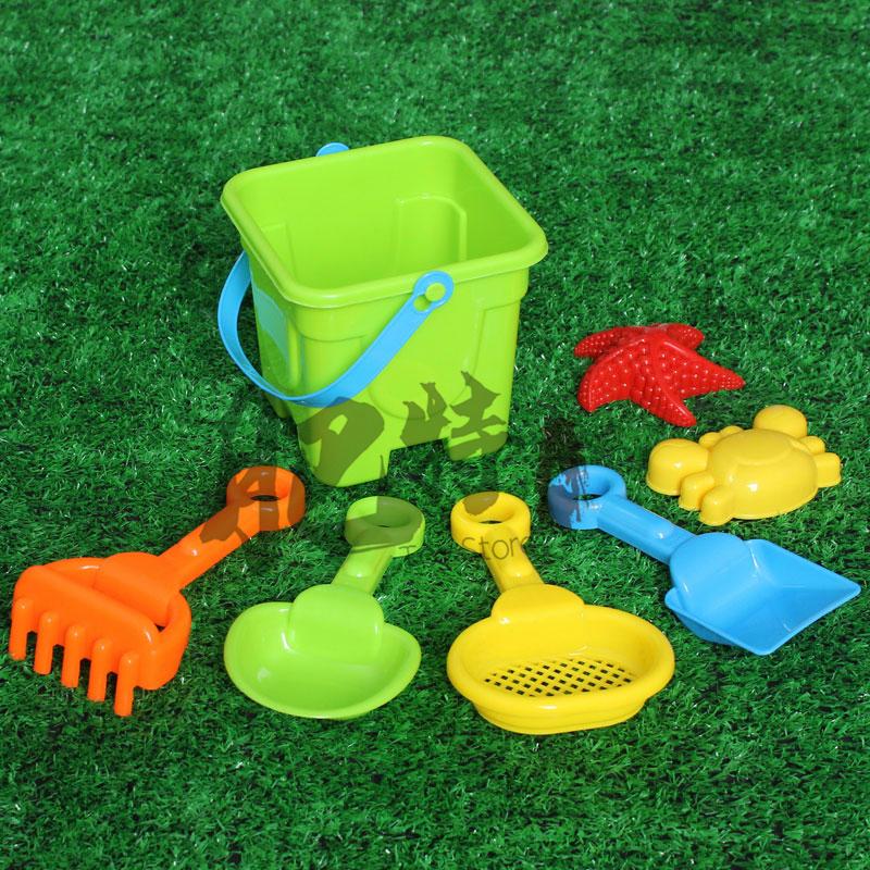 男孩女孩儿童沙滩玩具铲子水桶海边戏水挖沙工具宝宝沙滩玩雪套装