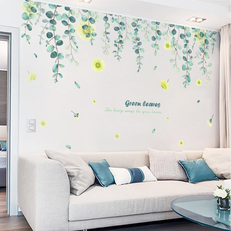 自粘客厅温馨沙发背景墙壁装饰墙纸