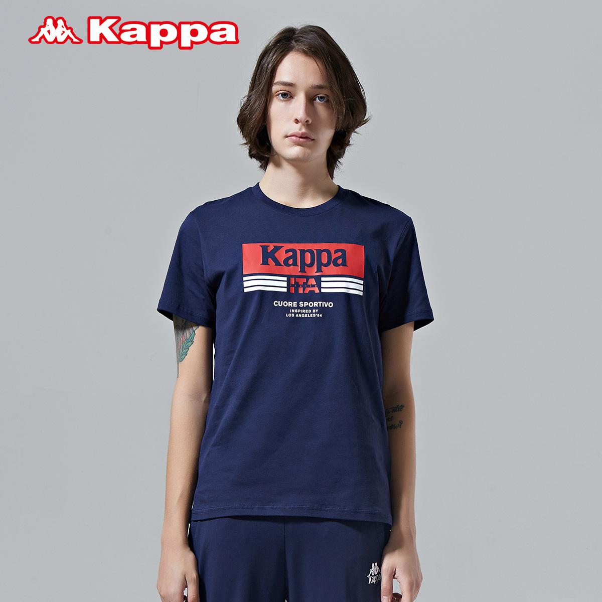 Kappa卡帕 男款运动短袖休闲T恤夏季半袖 2019新款 K0912TD05