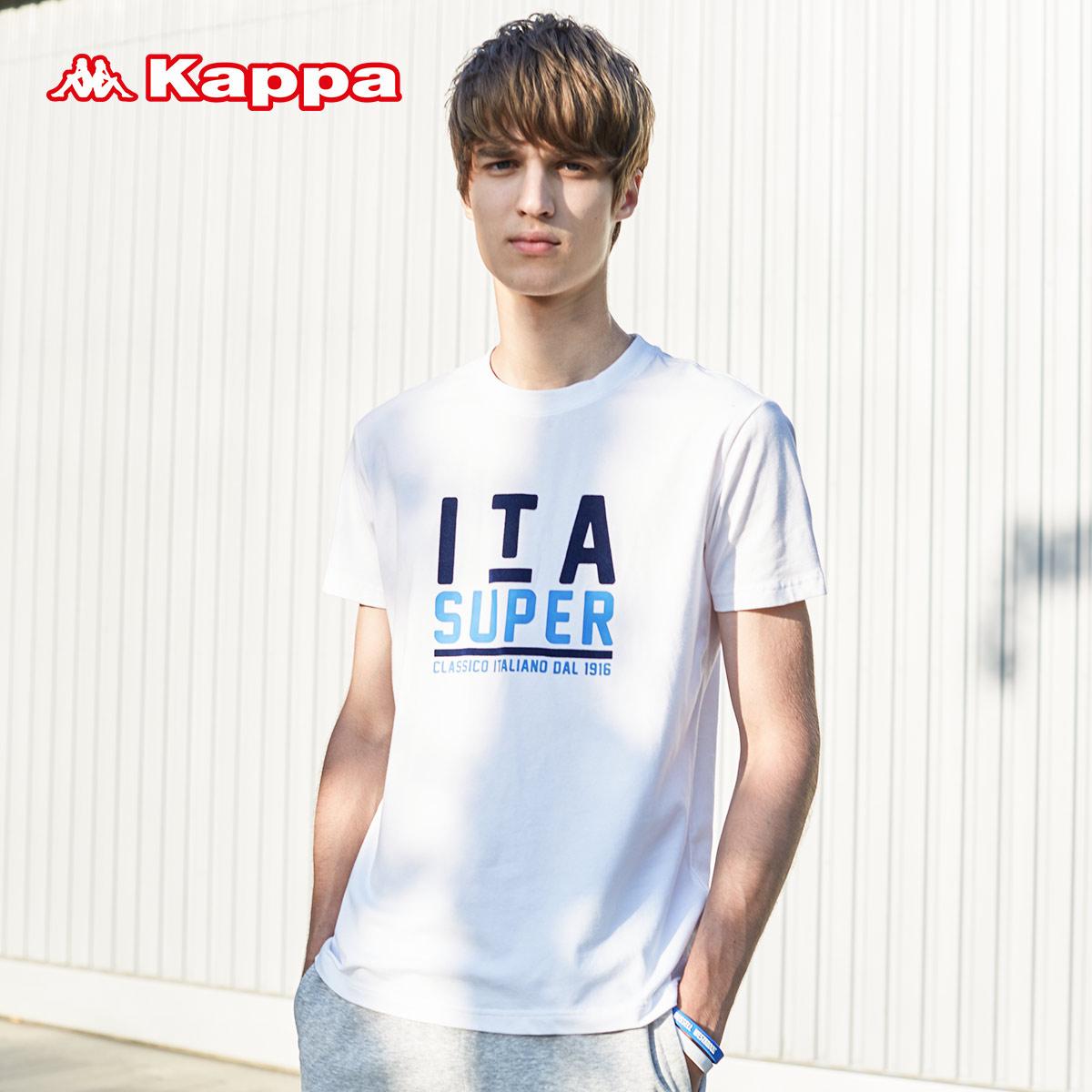 Kappa 男款运动T恤 简洁运动休闲短袖 春夏装 |K0712TD02F