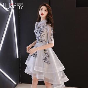 宴会小晚礼服2021新款夏季连衣裙